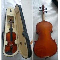 China Antique Half Size Student Classic Violin Handmade With Bow / Case wholesale