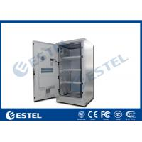 China Aluminum Outdoor Battery Cabinet One Front Door For Telecom Station IP55 wholesale