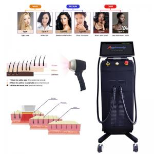 China Painless Fast Full Body CE 808 Diode Laser Hair Removal Machine wholesale