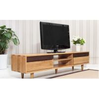 China Antique Double Wooden Low Tv Stand , Economic Contemporary Tv Stands High Standard wholesale
