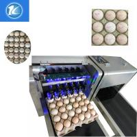 China Automatic Egg Batch Coding Inkjet Printer With Thermal Foam Type Nozzle wholesale