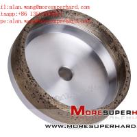 China 6A2 Metal Bond Diamond Cup Wheel for Straight Edge Machine alan.wang@moresuperhard.com wholesale