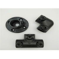China ISO9001 Flange Key Clamp Cast Iron Pipe Fittings Black 131B wholesale