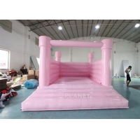 China Commercial White Bouncy Castle Wedding Children'S Inflatable Bounce House Rental Bouncy Jumping Bouncer For Sale wholesale