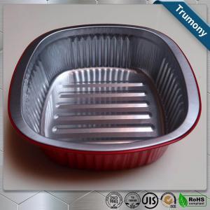 China Food Grade Aluminum Foil Container , Food Grade Aluminium Foil Heat Resistance For Baking wholesale
