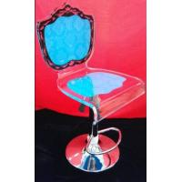 China Colorful Modern Acrylic Furniture / Acrylic Chair With Rolling Base wholesale