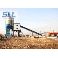 China HZS60 Fully Automatic Concrete Batching Plant With JS1000 Concrete Mixer wholesale