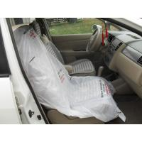 China LDPE steering wheel cover, car seat cover, disposable cover, pe car foot mat, gear cover wholesale
