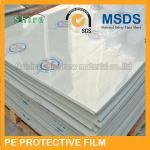 China Plastic Panel Hard Surface Protection Film Polyethylene Protective Tape No Bubble wholesale