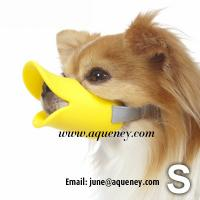 China Duckface Dog Muzzle Adjustable Duck Bill Dog Muzzle Available in 3 Colours wholesale