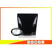 China Custom Printed Coffee Bags Black Tea Zipper Resealable Stand Up Pouches wholesale