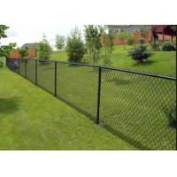 Practical Sports Ground Fencing / Chain Link Mesh Fence No Toxic Material