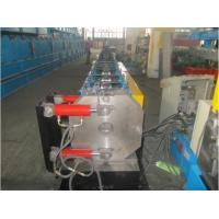 China Round Shape Stainless Steel Pipe Bending Machine , Gutter Roll Forming Machine PLC Control wholesale