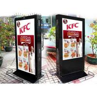 China Sunlight Readable Electronic Poster Display , Remote Control Digital Signage Stand wholesale