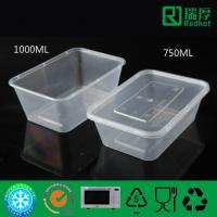 Pp Food Container ~ Rectangular microwaveable disposable plastic pp food