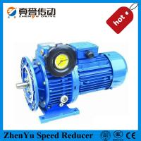 China Precision 1450 Rpm Stepless Speed Variator Of Motor / Friction Gear And Pressure Device wholesale