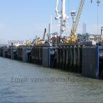 China Marine dock uhmw pe plastic fender panel wholesale