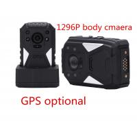 China Black Portable Body Worn Video Camera For Security , Small Hd Body Camera wholesale