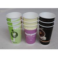 China 16oz - 22oz Disposable Hot Beverage Cups , To Go Coffee Cups With Lids For Drinking wholesale