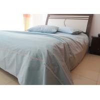 China Linen Cotton Pure Luxury Sheet Sets 3 Pcs Twin / Queen / King Size For Home wholesale