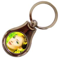 China Novelty Products Personalized Keychains For Him And Her Customized Printed on sale