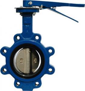 Lug type API609 Butterfly valve Lever operator /