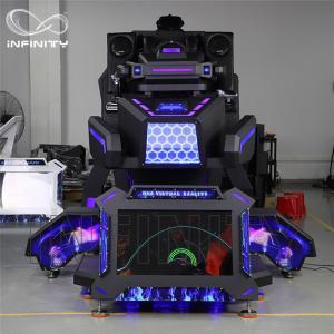 Buy cheap 1 Person 9D VR Simulator Terninator Racing Car Virtual Arcade Games Machines from wholesalers