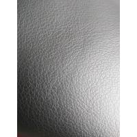 China Flocking Artificial Perforated Leather Fabric With 5% Cotton And 5% Polyester wholesale