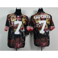 China nike nfl 49ers 7# Kaepernick fanatical version Jersey wholesale