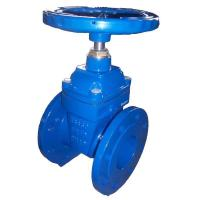 China PN16 DN500 Resilient Gate Valve DIN F4 For Potable Water / Sea Water wholesale