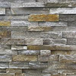 China Natural stone , Granite Stacked Stone Pink Quartzite Stone Rock Face Wall cladding wholesale