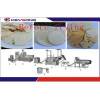 China Fully Automatic Doritos Chips Making Machine , Fried / Dried Corn Tortilla Making Equipment on sale