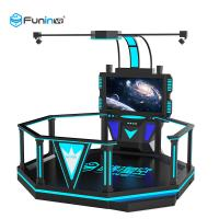 China Ride 0.9KW For Amusement Park Black 220V 9D VR Space Walk Virtual Reality Boxing Game Ride 0.9KW For Amusement Park wholesale