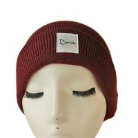 China Popular high quality customized logo and color blank winter knitted  hats caps wholesale