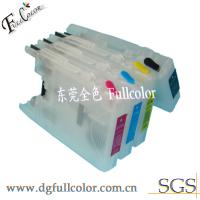 China LC67 / LC1100 Refillable Ink Cartridges for Brother MFC290C Printer Cartridge wholesale