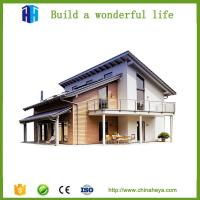 Buy cheap sound proof steel frame prefabricated villa house construction in india from wholesalers