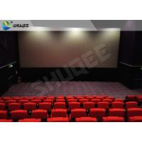 Quality Film Projector 3D Cinema System With Plastic Cloth Cover Chair 100 People for sale