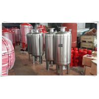 China Thermal Expansion Diaphragm Pressure Tank , Fire Sprinkler Water Storage Tanks wholesale