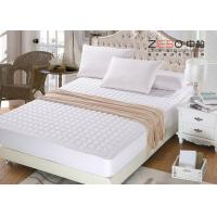 China 200gsm Waterproof Mattress Pad , Memory Foam Mattress Topper Queen Size wholesale