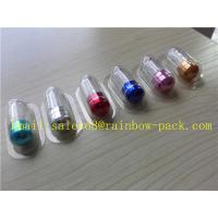 China 10ml Aluminum Foil Plastic Medicine Bottles For Sex Pill With Colorful Cap wholesale