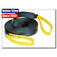 "China 2"" 12000 Lb Winch Webbing Strap With Snap Hook Appliance Moving Straps wholesale"