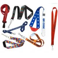 China Fashion polyester lanyard with ID badge holder wholesale