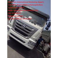 China 30 - 40tons industrial Heavy Duty Tipper Dump Truck , Driving Axle HC16 AC16 wholesale