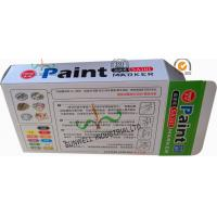 China Fancy Cardboard Office Paper Box , Multi Color Painting Marker Pen Packaging Box wholesale