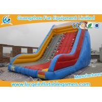 Promo Climbing Commercial Grade Inflatable Water Slide  Puncture Proof Environment Friendly