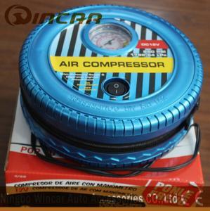 Quality DC 12V Portable Air Compressor / Tire Air Compressor Ningbo Wincar for sale