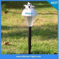 China holloween solar spike garden led lights solar chrismas lights solar sensor pathway lawn lights wholesale