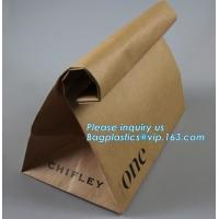 China Wholesale Promotion Custom Made Kraft Paper French Bread Baguette Bag For Bakery Packaging,Custom Made Brown Paper Bags wholesale