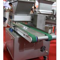 China 300 - 600 Trays/Hr Cake Depositor Machine Servo Motor With Delta PLC  Touch Screen wholesale