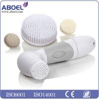 China IPX - 7 Multifunction 4 In 1 Vibrating Skin Cleansing Brush with Pumice / Sponge on sale